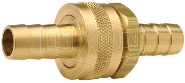 Short Shank GHT Complete Coupling with Round Nut