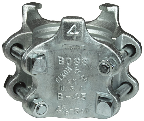 Boss® Clamp 6 Bolt Type, 3 Gripping Fingers