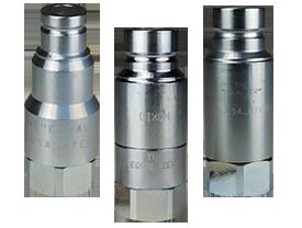 HTE-Series Connect Under Pressure Flush Face Female Plug