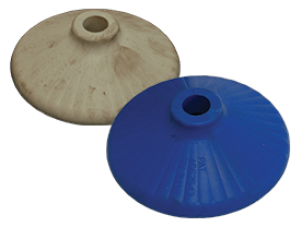 Food Grade Fluidizer Disc