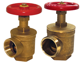 Global Forged Brass Angle Hose Valve