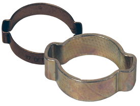 Pinch-On Double Ear Clamp