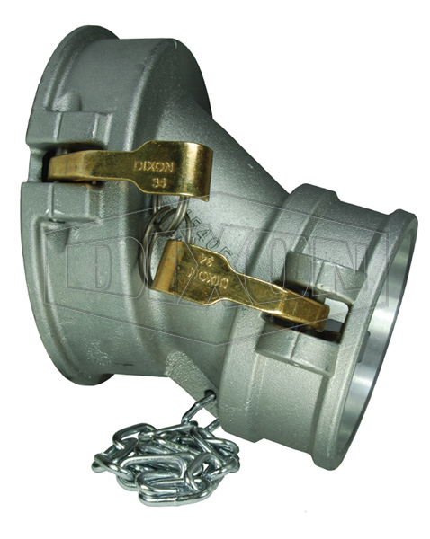 API Flanged Drop Coupler with Sight Glass