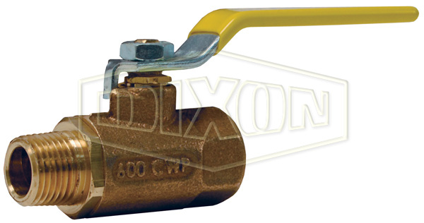 Bronze Ball Valve Female x Male
