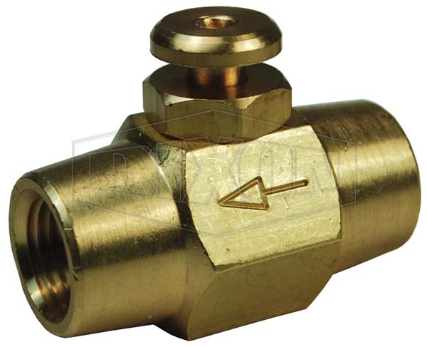 Button Valve, Female