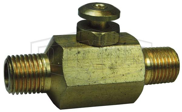 Button Valve, Male