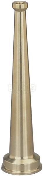 Brass Plain Hose Nozzle