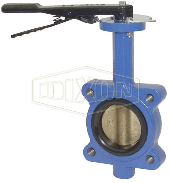 Threaded Lug Style Butterfly Valve