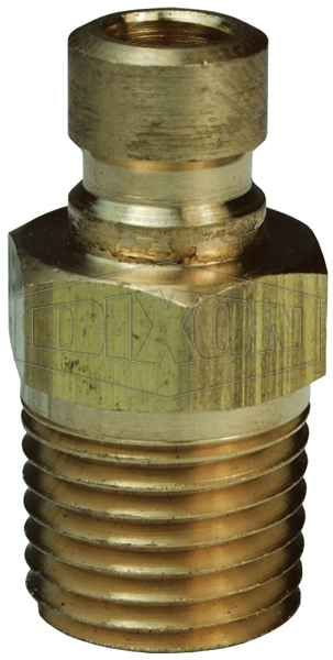 DQC CM-Series Industrial Mold Interchange Plug Male NPTF