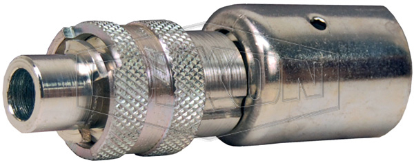 Dix-Lock™ N-Series Bowes Interchange Male Locking Head x Hose End with Ferrule