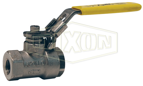 2-Piece Domestic Stainless Steel Ball Valve