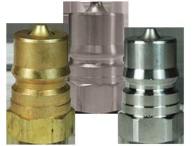 DQC HS-Series ISO-B Steam Interchange Female Plug