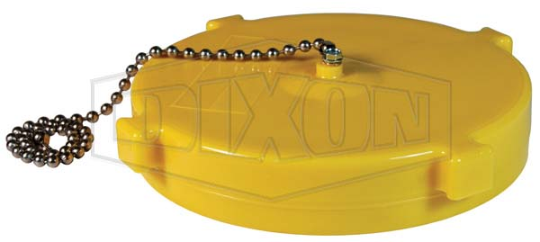 Dry Hydrant Rocker Lug Cap with Cable