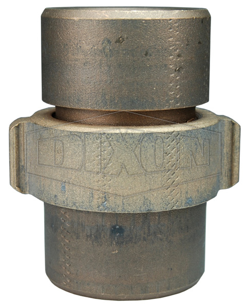Expansion Ring Coupling for Rack Hose, Brass