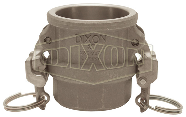EZ Boss-Lock™ Cam & Groove Hastelloy® Type D Coupler x Female NPT