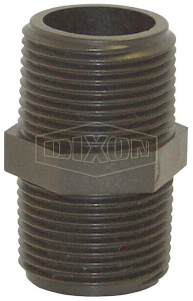 Schedule 80 Threaded Polypropylene Hex Nipple