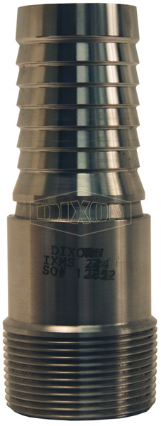 Internal Expansion (IX) Sanitary Style Male NPT Stem