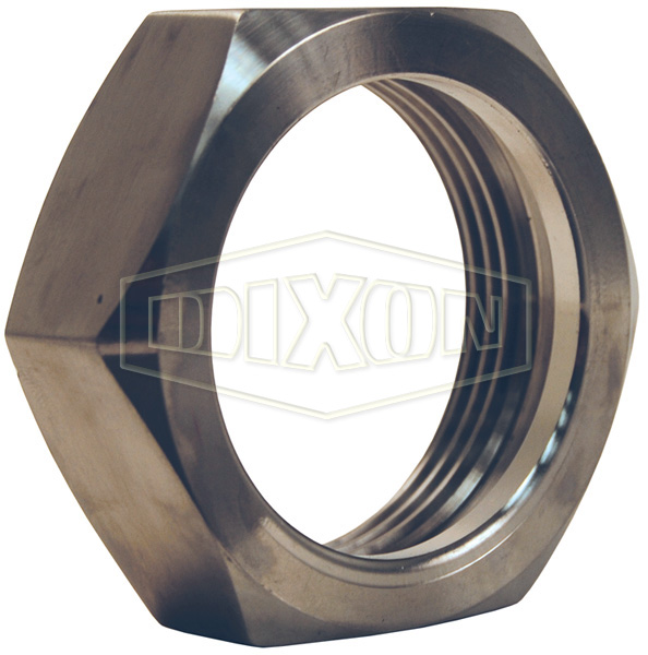Internal Expansion (IX) Sanitary Style Bevel Seat Threaded Hex Nut