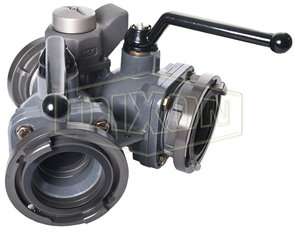 Aluminum 2-Way Jumbo Ball Valve