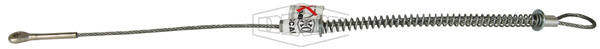 King Cable™ Hose-to-Tool Service with Safety Marine Eye