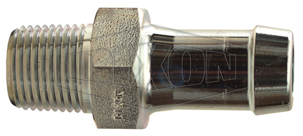 King™ Steel Hex Nipple for 1 Clamp