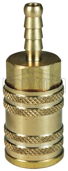 M-Series ARO Pneumatic Manual Standard Hose Barb Coupler