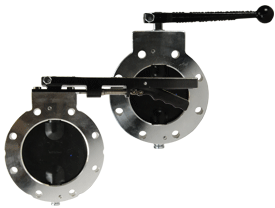 Betts Wet-R-Dri™ TTMA Flanged Butterfly Valve