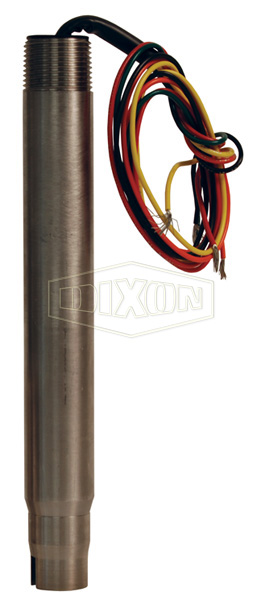 FloTech API Optic 5 Wire Overfill Detection System Stainless Probe