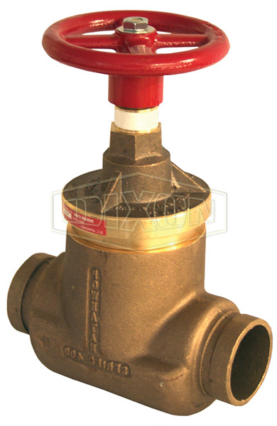 Factory Set Pressure Reducing Brass Standard Globe Valve Grooved x Grooved