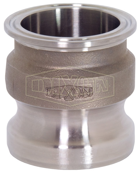 Cam & Groove Adapter x Clamp End