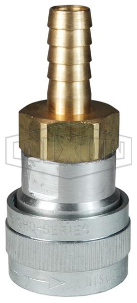 SHD-Series Schrader Pneumatic Standard Hose Barb Coupler
