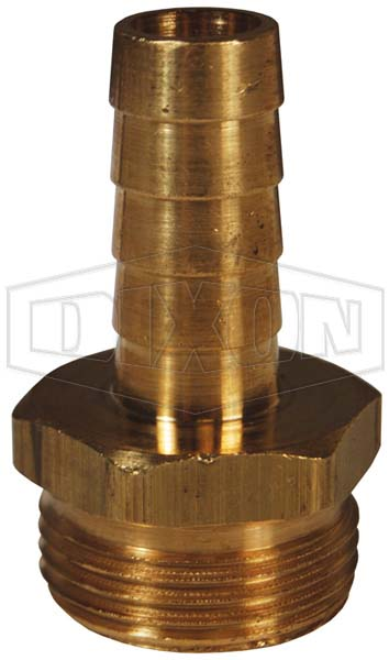 Machined Short Shank Hose Male NPSM Coupling