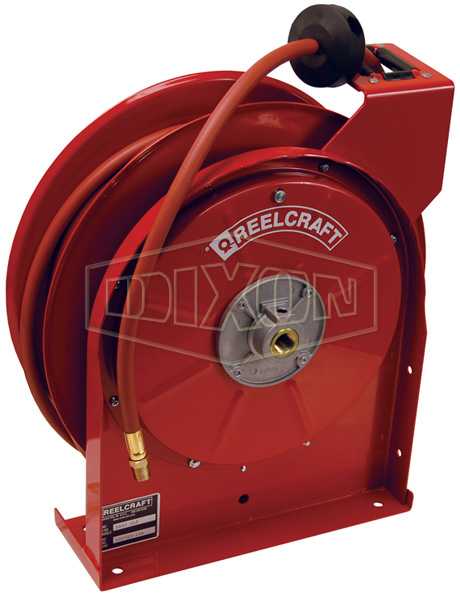 Reelcraft® 5000 Series Spring Driven Hose Reel with Hose