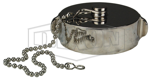 Stainless Steel Cap with Chain