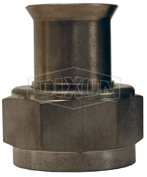Straight Female Weld End Metal Hose Fitting