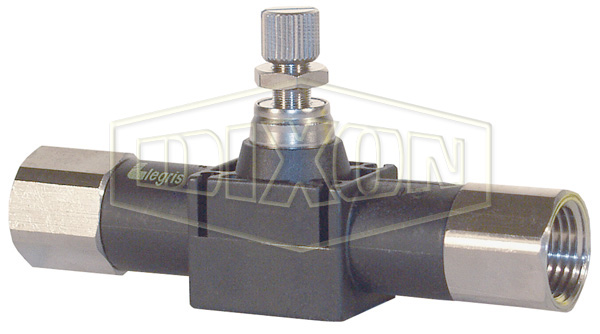 Legris Threaded In-Line Flow Control Valve