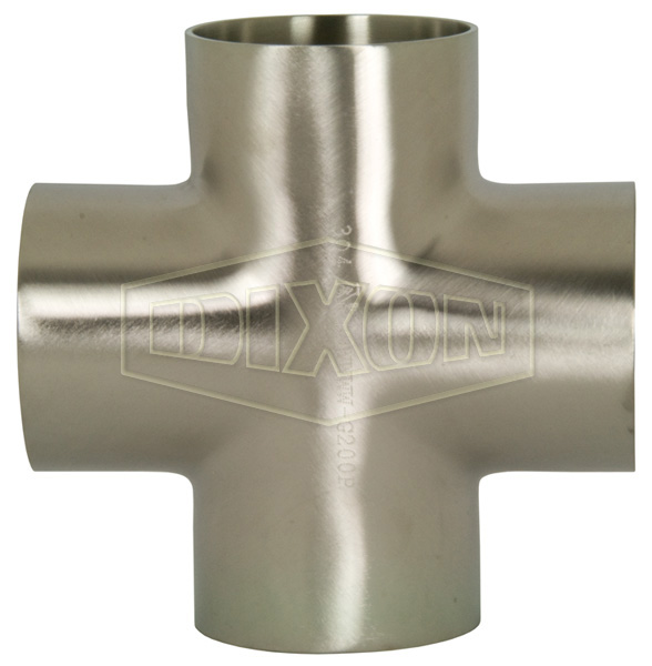 Polished Weld Cross
