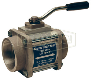 MannTek One-Way Full Flow Ball Valve Female NPT