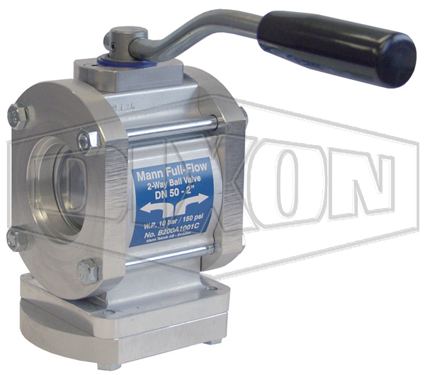 MannTek Two-Way Full Flow Ball Valve Female NPT