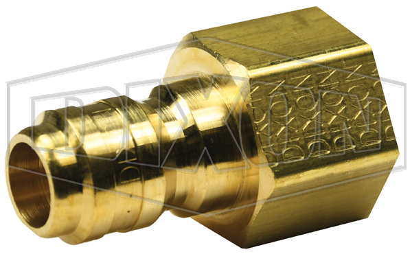 DQC E-Series Straight Through Interchange Male Plug - Retail Package