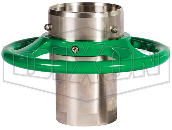 Mann Tek Cryogenic Dry Disconnect Coupler-Hose Unit x Female NPT