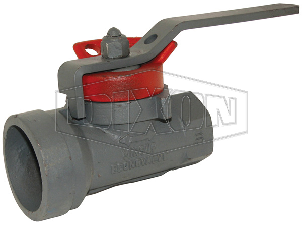 Econovalve Female x Grooved Ball Valve