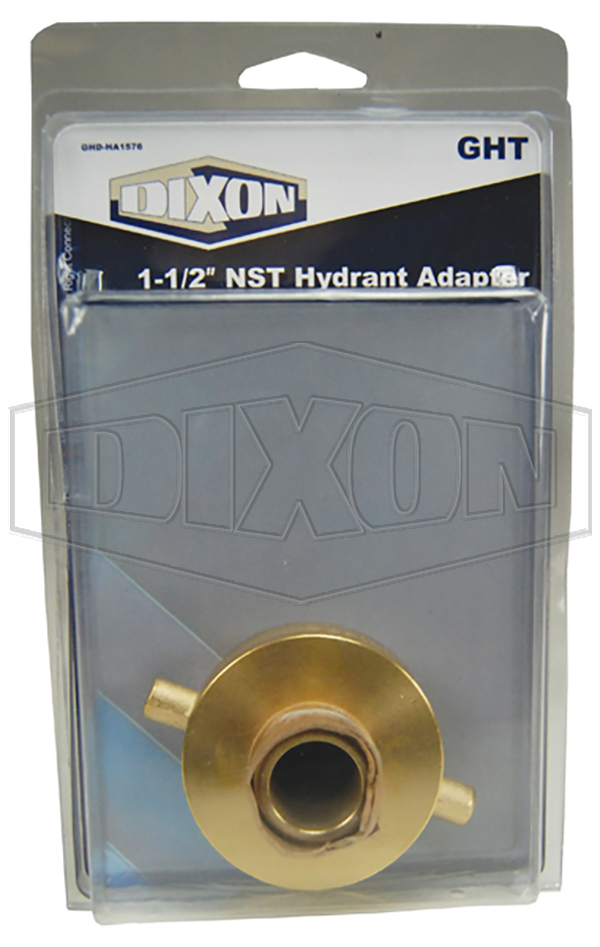 "1-1/2"" NST Hydrant Adapter - Retail Packaged"