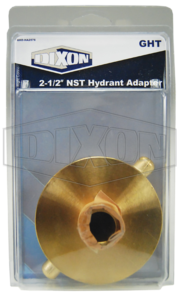 nst hydrant adapter garden hose display