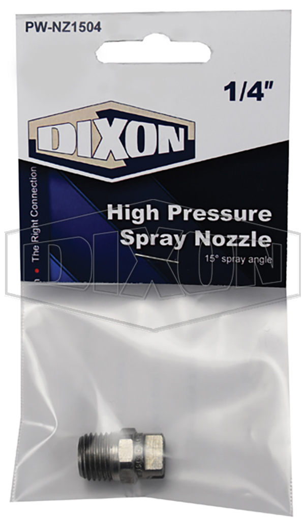 High Pressure Spray Nozzle - Retail Packaged