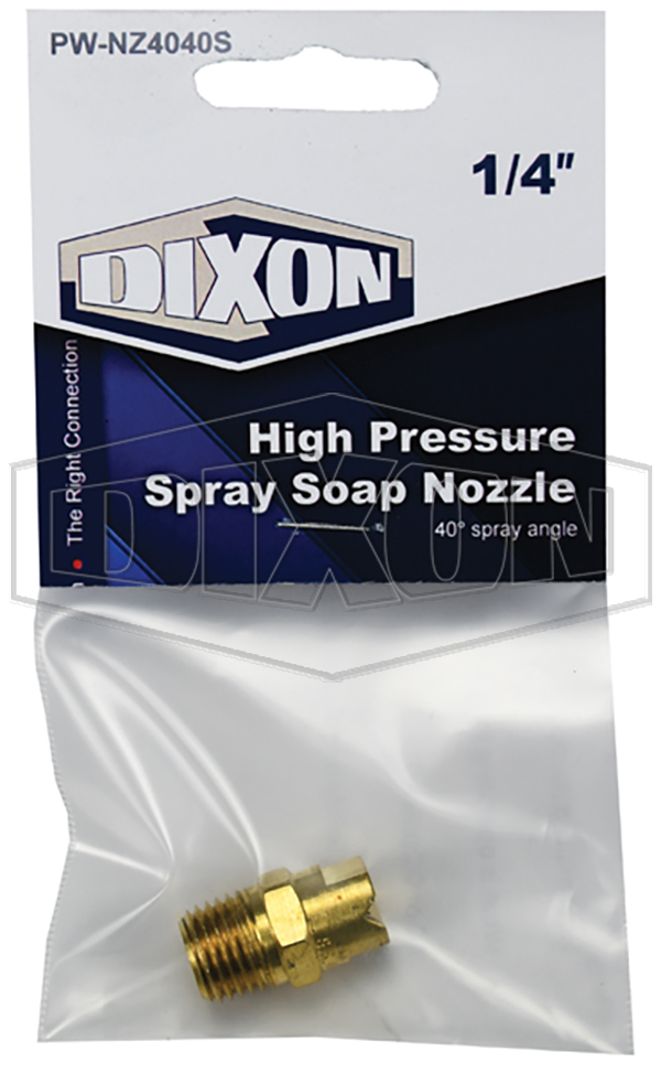 High Pressure Spray Soap Nozzle - Retail Packaged
