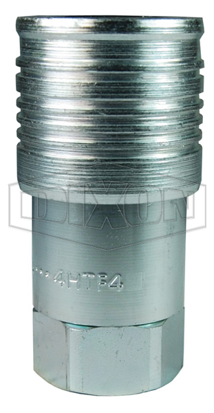 HTZ Series Flush Face Female Threaded Coupler