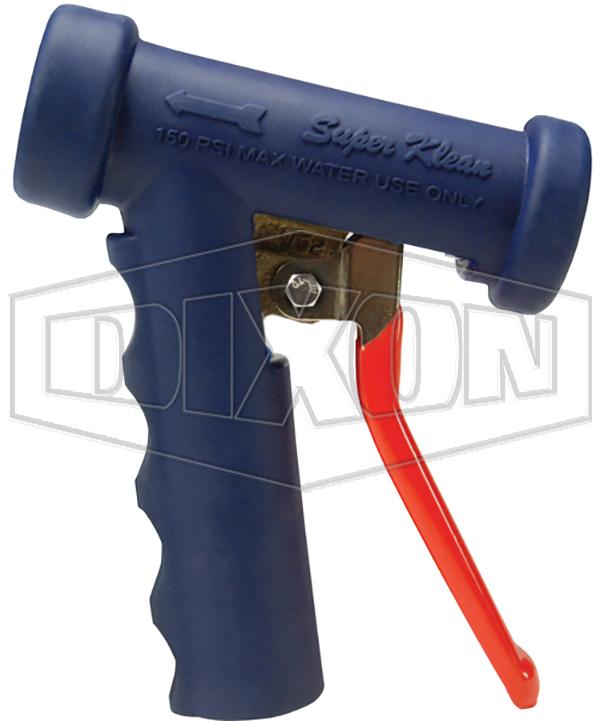 lite washdown spray nozzle blue brass