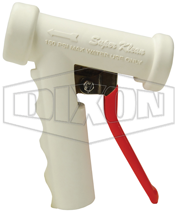 lite washdown spray nozzles white brass