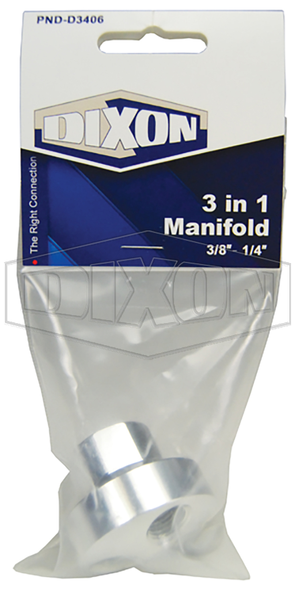 3 in 1 Manifold - Retail Packaged